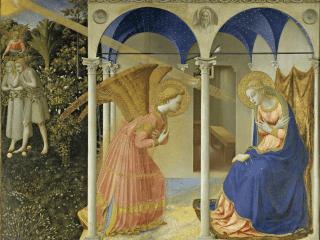 Festmény prédikációk_Angyali üdvözlet