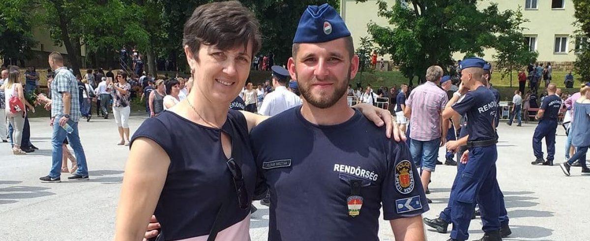 Hogyan lett rendőr a nevelt fiamból