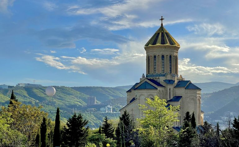 Trinity Templom Tbilisi